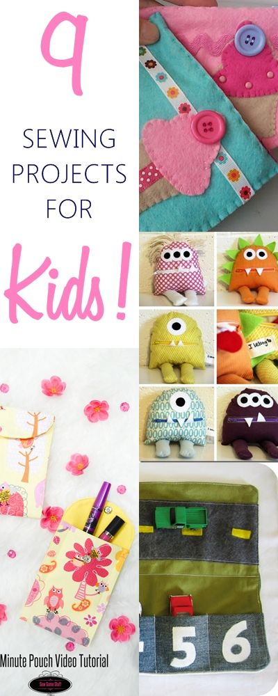 9 BEST and SIMPLEST Beginner's Sewing Projects (KidsTerry Ciraulo