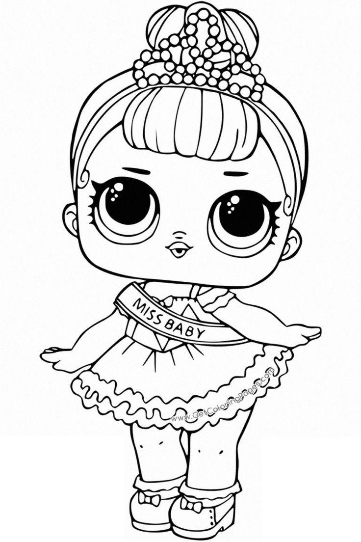 Раскраски куклы ЛОЛ. Распечатайте бесплатно все серии ...