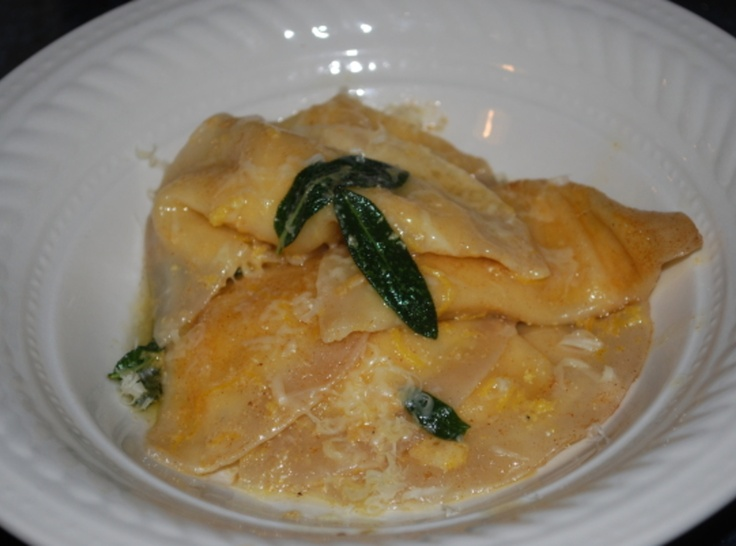 chestnut ravioli with sage browned butter ravioli with sage brown ...