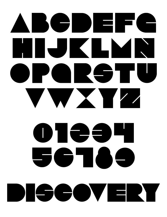 17 Best images about Geometric and Isometric fonts on Pinterest ...