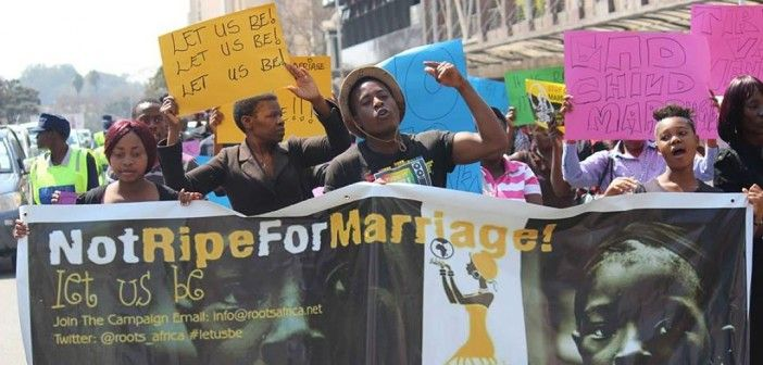 """Child Brides Help To Ban Child Marriage in Zimbabwe: In 2014, two Zimbabwean child brides, Ruvimbo Tsopodzi and Loveness Mudzuru, sued the Constitutional Court for failing to protect girls from child marriage. The court challenge lasted nearly two years, but ultimately ended positively. In January of this year, the Constitutional Court ruled that boys and girls under the age of 18 cannot enter into """"unregistered, customary or religious"""" unions, effective immediately. #ChildBrides #Zimbabwe #"""