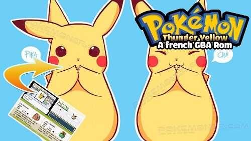 Pokemon Thunder Yellow French