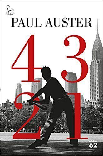 4321.de Paul Auster ed.Edicions 62, 2017 S'obren davant  d'Archie diversos camins, que el duran a viure quatre vides paral·leles, simultànies i independents. N AUS