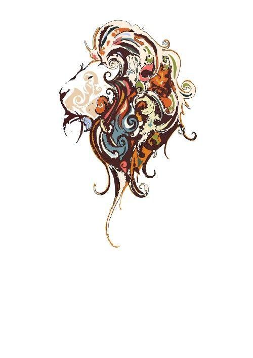 Lion Tattoo Desing