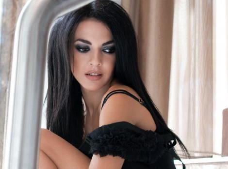 Greek actress Maria Solomou