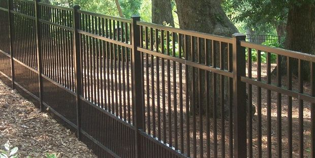 Aluminum Fence For Small Dogs And Puppies Ideas For The