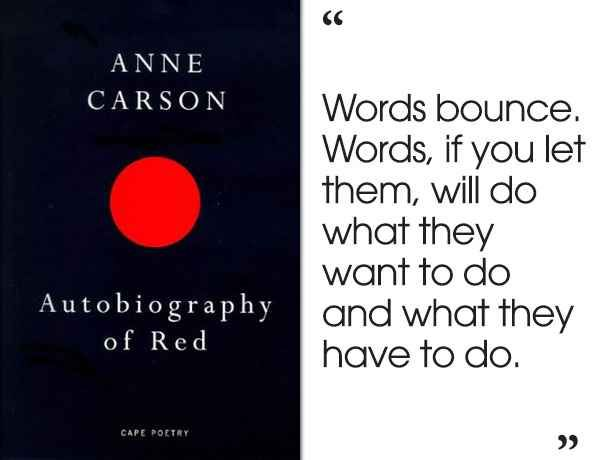 Autobiography of Red by Anne Carson | 46 Brilliant Short Novels You Can Read In A Day