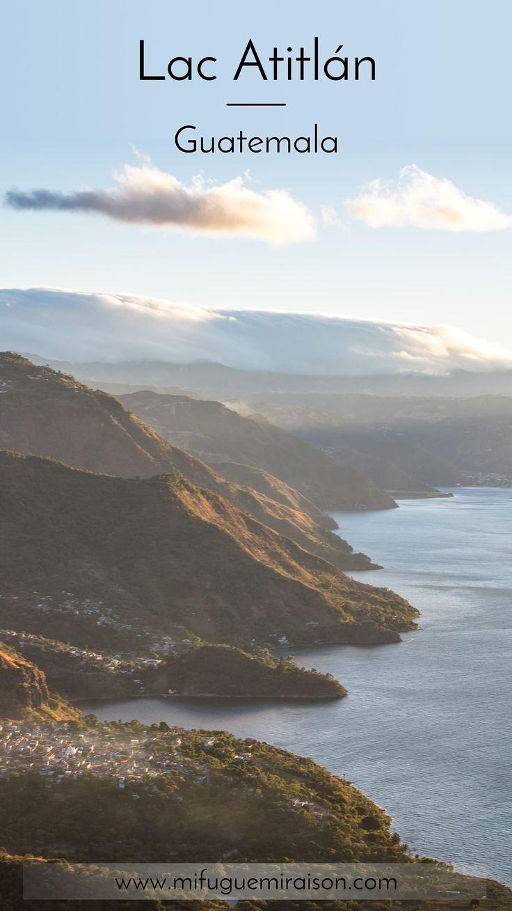 Le plus beau lac du monde, ou presque. Quelle sérénité ! Voici le récit de notre séjour sur les rives du lac Atitlán : San Pedro, San Juan, San Marcos, l'Indian Nose... #guatemala #atitlan #article #blog #lac #travelblog #itinéraire #chichicastenango