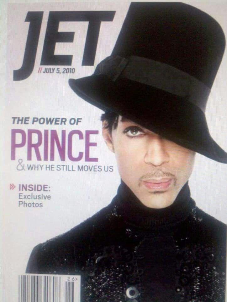 Prince on Jet Magazine 7/5/2010