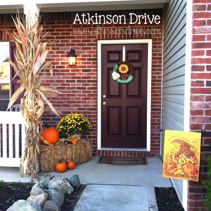 Outdoor Fall Decor | Atkinson Drive