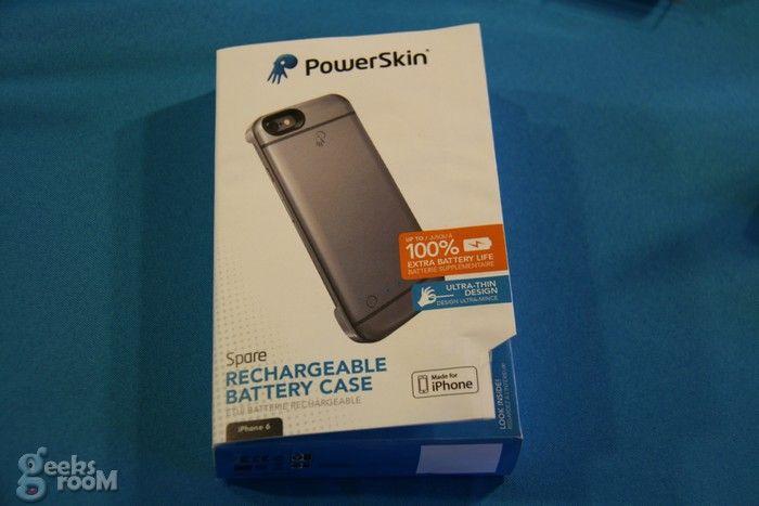 PoweSkin Spare, la batería protector para iPhone 6 más delgada y liviana del mercado #CES2015