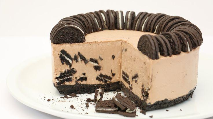 Oreo & Nutella ICE CREAM Cake *How To Make from CakesStepbyStep - YouTube
