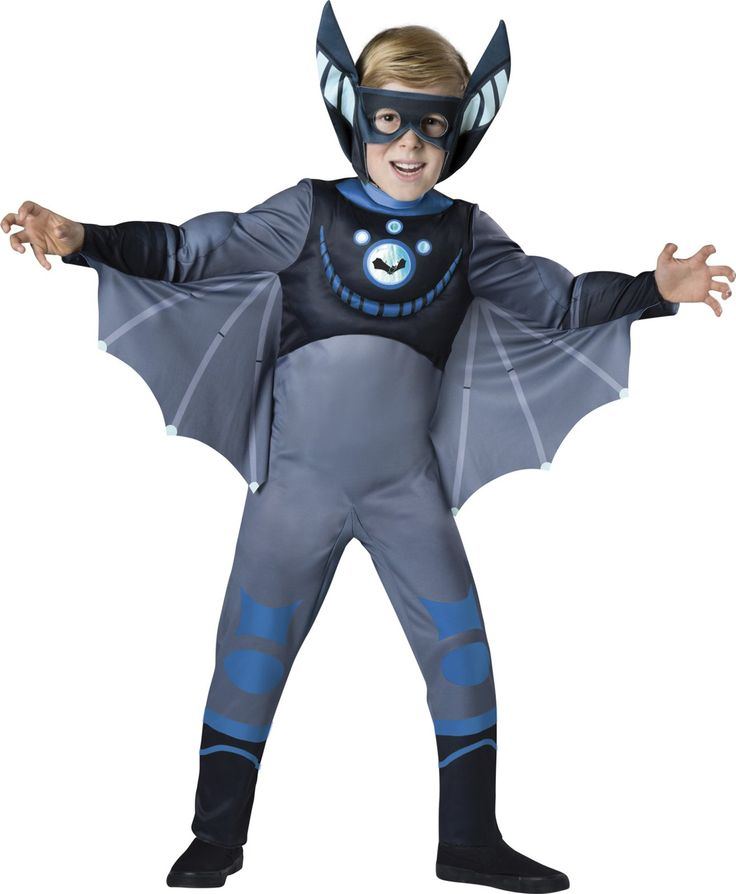 Wild Kratts Quality Blue Bat Costume For Boys from Buycostumes.com