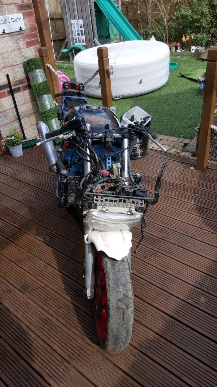 Starter doner bike #shed