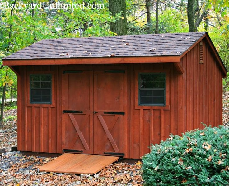 10 39 x15 39 quaker storage shed with board and batten siding for Garden shed ventilation