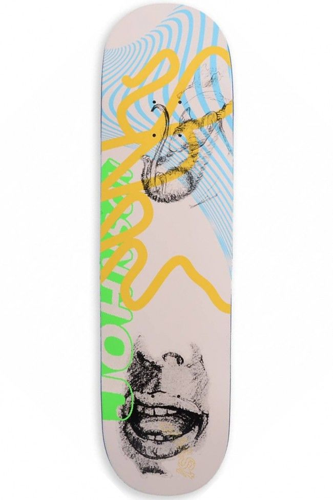 Sketch Jake Johnson Pro Skateboard Deck by Quasi