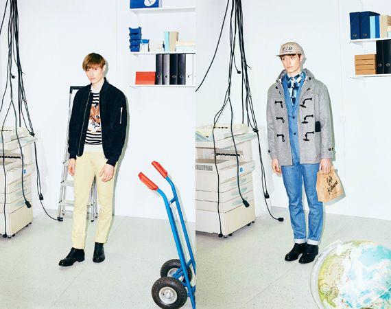 Maison Kitsuné Fall/Winter 2015 Lookbook