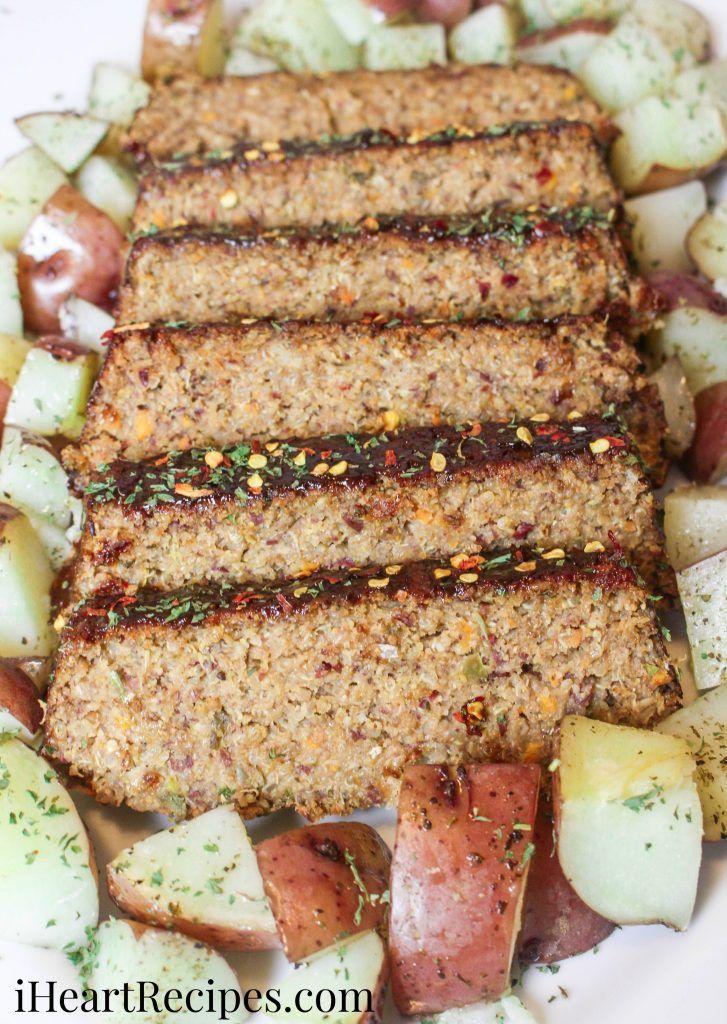 Southern Style Vegetarian Meatloaf I Heart Recipes Recipe Vegetarian Meatloaf Vegan Soul Food Vegan Meatloaf