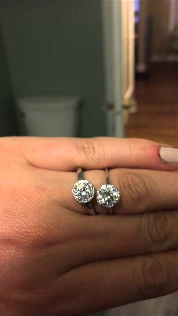Moissanite Vs. Diamond | shopping | Pinterest | Moissanite ...