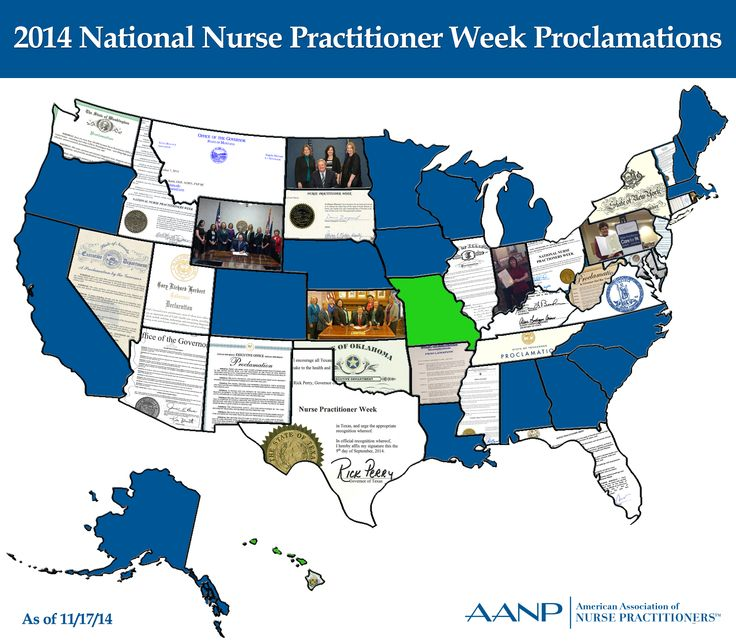 AANP is excited to report that 33 proclamations or letters of recognition in support of NP Week 2014 have been received from governors so far! This exceeds last year's record of 31. BIG THANKS to all who participated in this effort and sought support from legislators at local, state, and national levels. Well done!  Additional proclamations may be emailed to socialmedia@aanp.org. #NPWeek