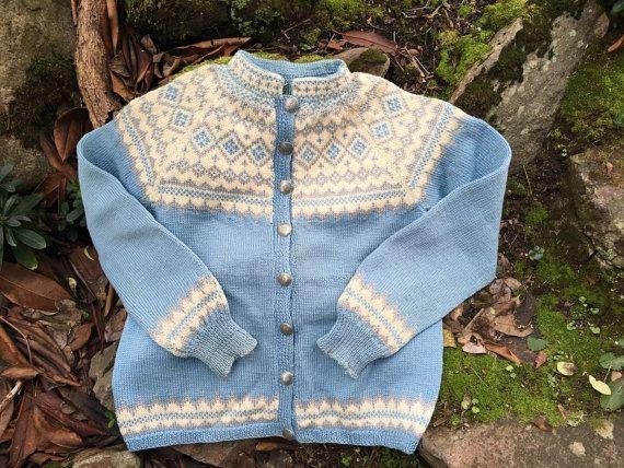 Fair Isle Norwegian wool sweater by Sundt of by VikingRaids