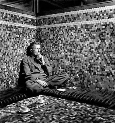 Paul Bowles - Photo by Karl Bissinger, Morocco, 1949