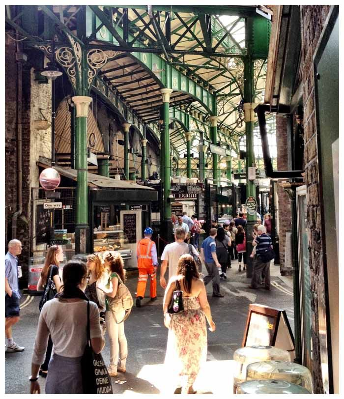 Borough Market, London. One of my favorite places that I visited.