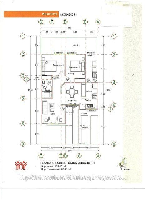 m s de 25 ideas incre bles sobre casas infonavit en On planos de casas de infonavit