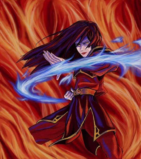 Avatar Background: Fan Art Of Azula For Fans Of Avatar: The Last Airbender