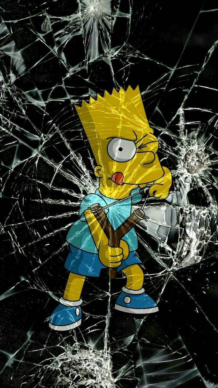 1001 swag picture concepts to make use of as cool wallpaper | Bart simpson, Fond d'écran android