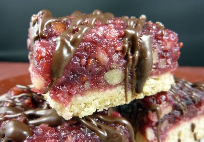 Cranberry Turtle Bars | C is for Cookies! | Pinterest