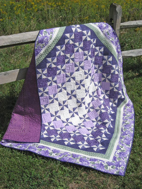 147 best Purple quilts images on Pinterest | Beading, Facts and Ideas : quilt purple - Adamdwight.com