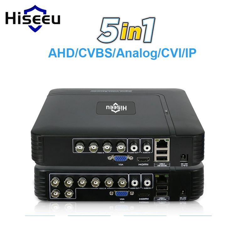 5 in 1 <b>CCTV Mini</b> DVR TVI CVI AHD CVBS <b>IP Camera</b> Digital Video ...