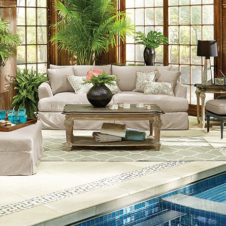 Best Arhaus Images On Pinterest Dining Room Furniture - Arhaus club sofa