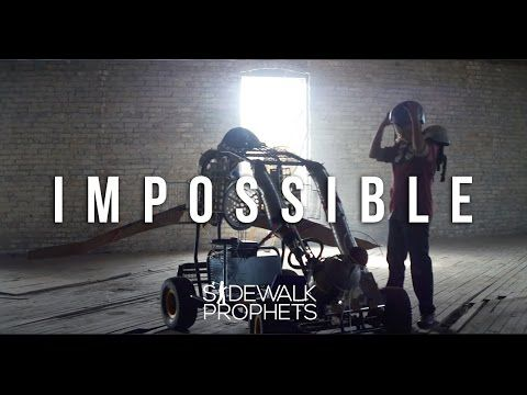Sidewalk Prophets- Impossible (Official Music Video) - YouTube