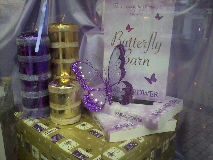 http://www.karenpowerauthor.com/  Butterfly Barn book launch.