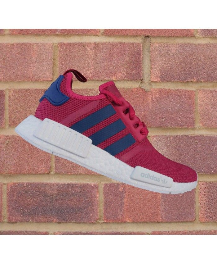 adf8e0137 Cheap Adidas Originals NMD Junior Dark Pink Shoe