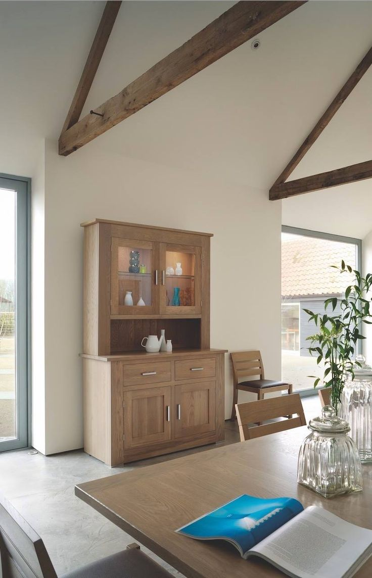 Unique designs quercus oak furniture giving a contemporary look. Made in our factory displayed for you in our showroom.
