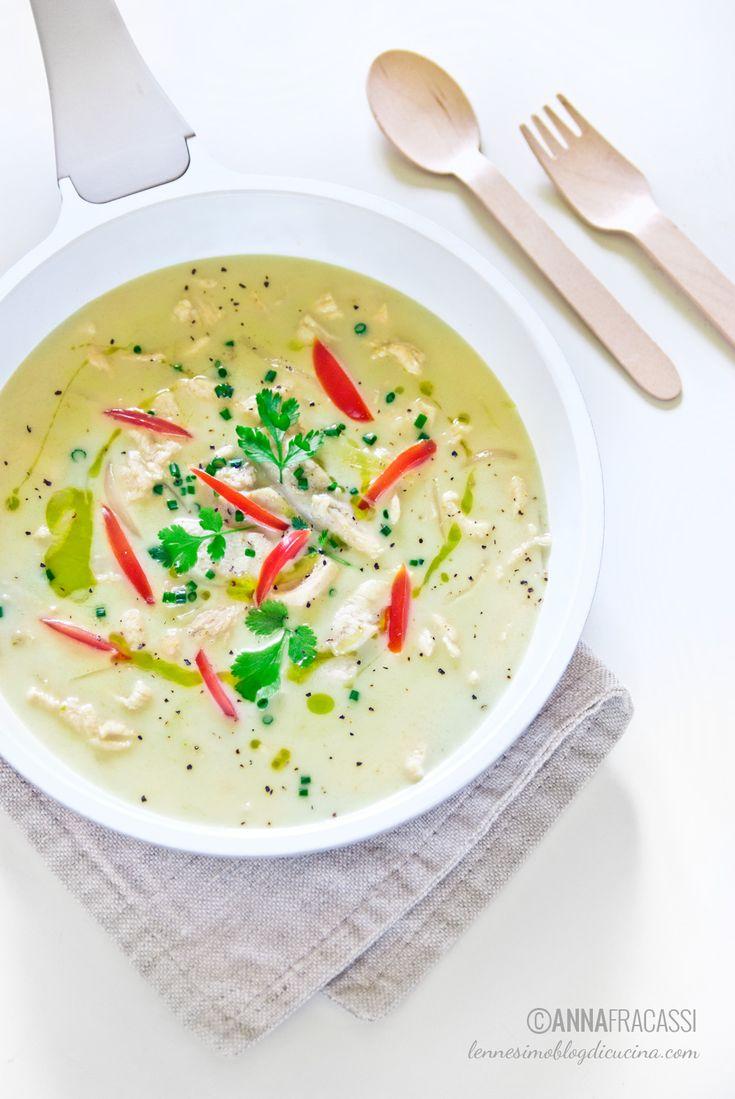 curry verde thai - chicken green curry ©annafracassi
