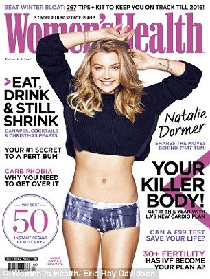 Read the full Natalie Dormer interview and get her exclusive yoga-inspired tone up plan in the December issue of Women's Health – on sale Thursday 5 November