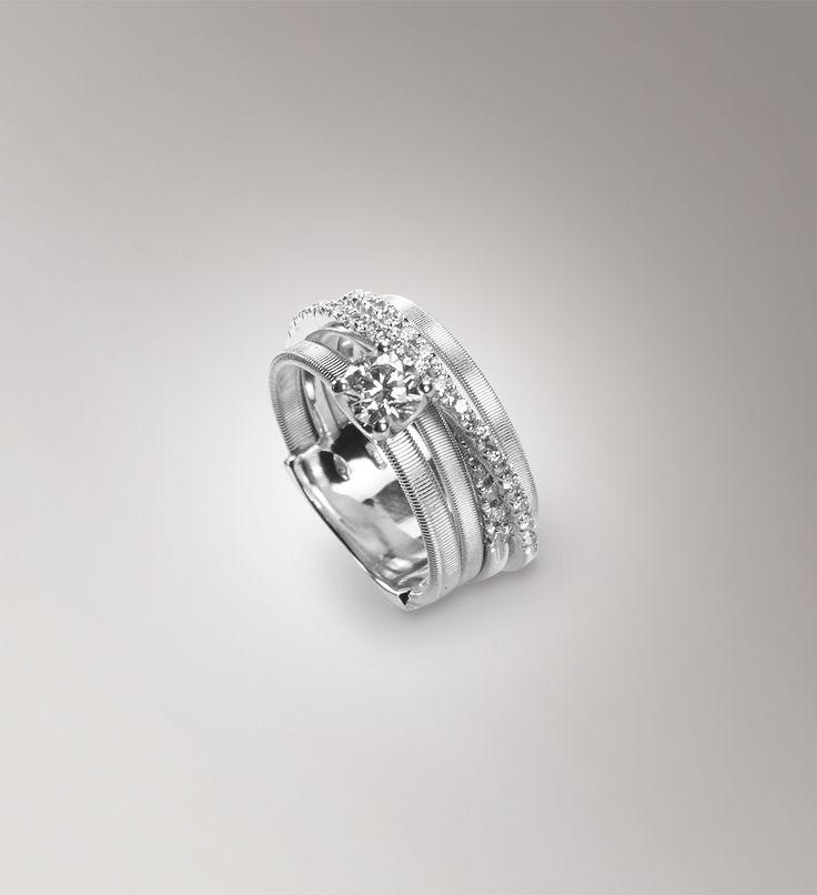 Rings - White gold - diamonds - Marco Bicego AG315-B B7