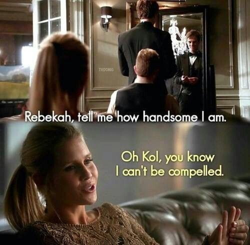 The Vampire Diaries a great show she is so funny lol