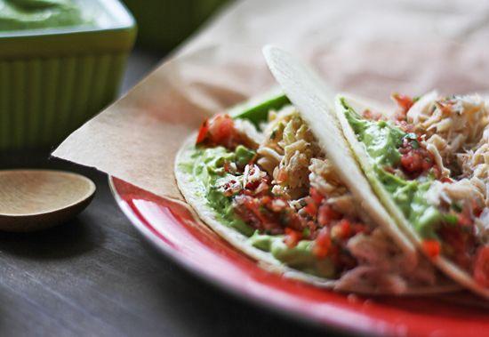 How to make easy Alaskan Crab Tacos — #Food #Recipe via @thewickednoodle