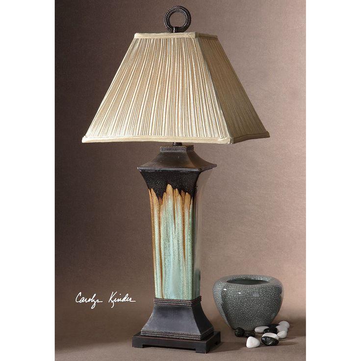 Uttermost olinda porcelain table lamp 26270
