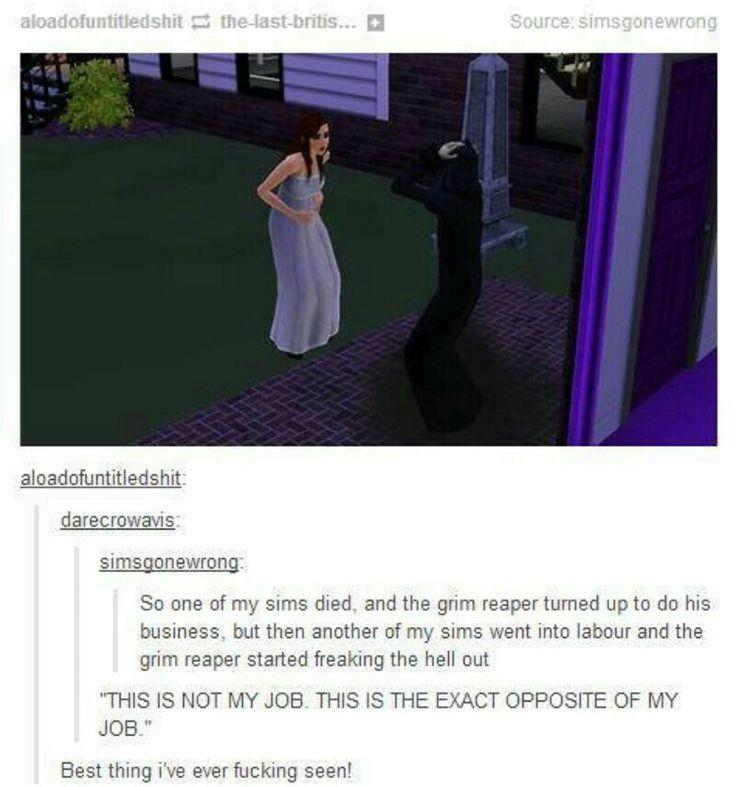 Sims how I love u so.
