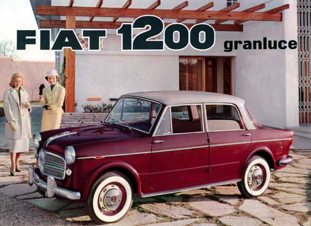 The things you can find online!  1959 Fiat 1200 . . . my first car, back in 1974 or so.  Cost a whole fifty bucks!