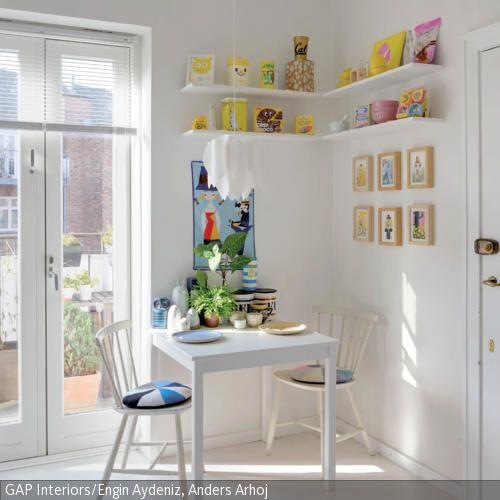 136 best Esszimmer images on Pinterest At home, Living room and - essecke wandgestaltung