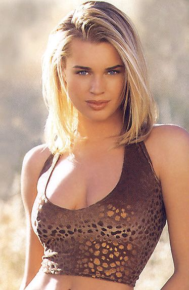 Rebecca Romijn. When she was younger. Wow what a gorgeous woman.