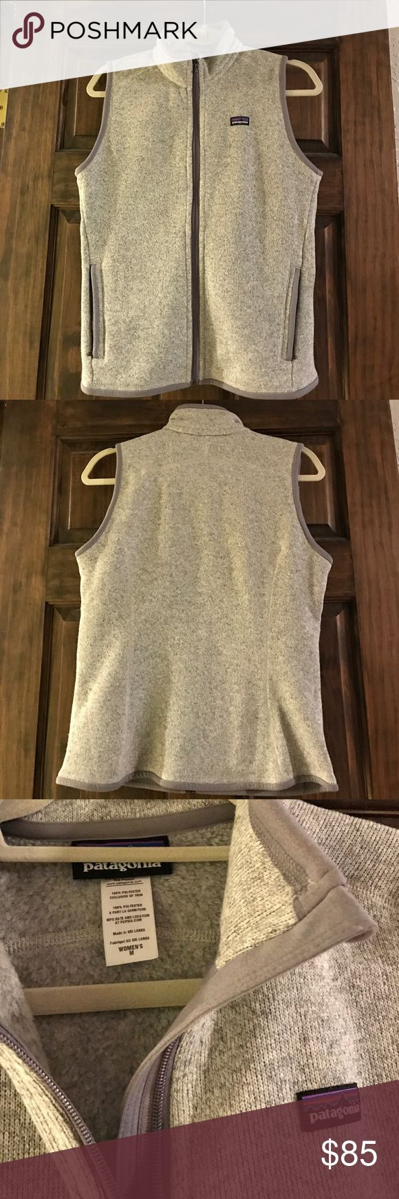 Patagonia better sweater vest (M) Selling a NWOT Patagonia Better Sweater Vest (woman's size medium in grey). No signs of wear, is brand new! Motivated seller so make an offer :) Patagonia Jackets & Coats Vests