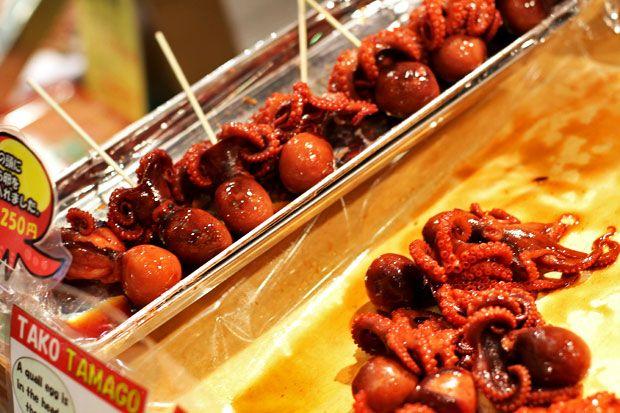 12 Things to Eat in Osaka, Japan - Tako Tamago